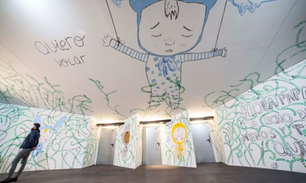 Drawing to Heal: Refugee Kids and the Magic Wall