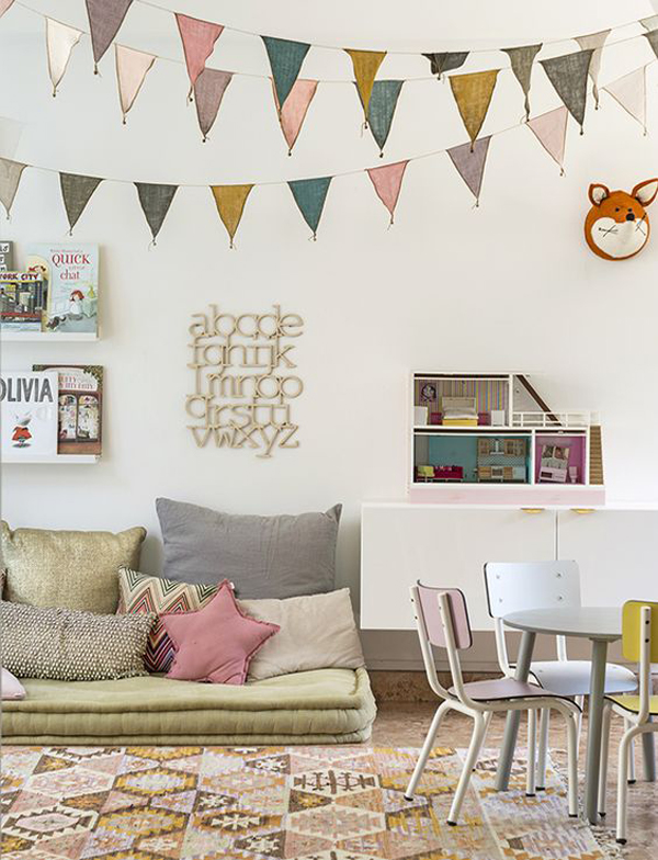 Children S And Kids Room Ideas Designs Inspiration: Low Cost Inspiration For The Playroom