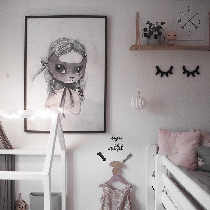 The Sweetest Girl S Nordic Room From Instagram Petit Amp Small