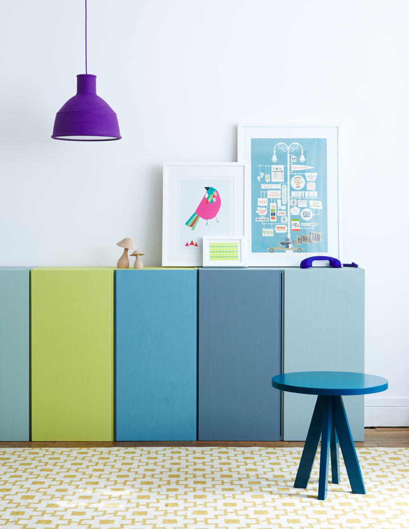 5 ways to decorate the ikea ivar cabinet petit small for Ikea ivar mobile