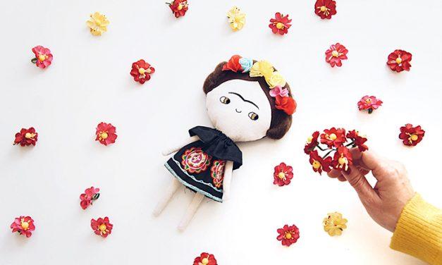 Frida Kahlo Doll by Lelerele