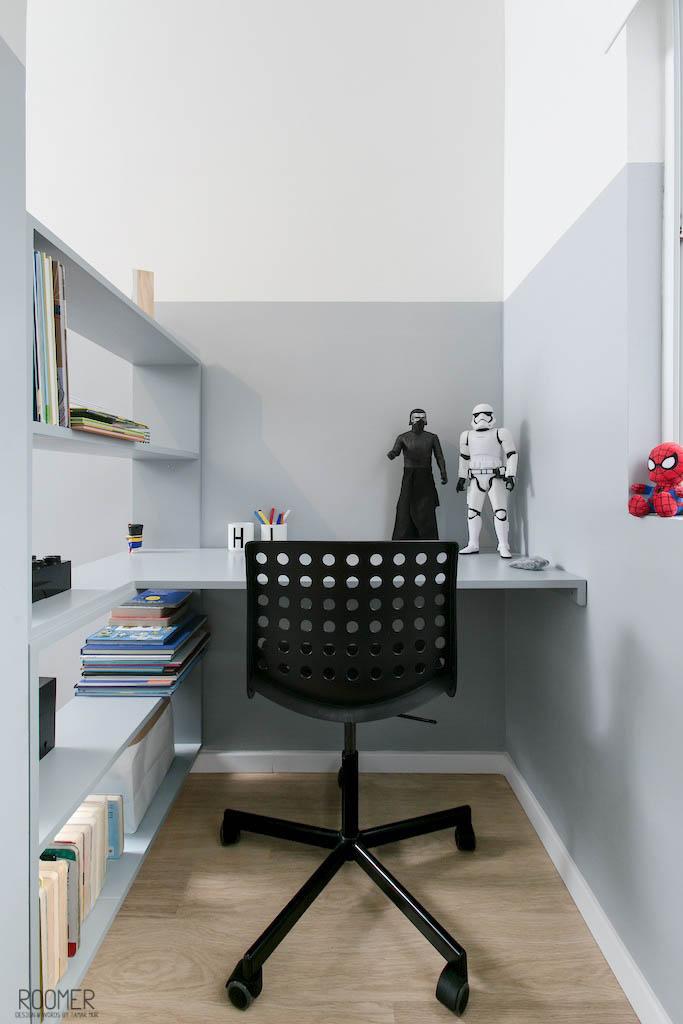 The Half Gray Room - Kids Study Area