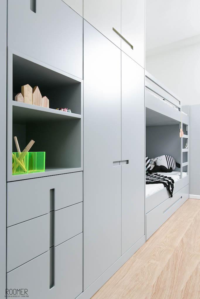 The Half Gray Room - Wardrobe