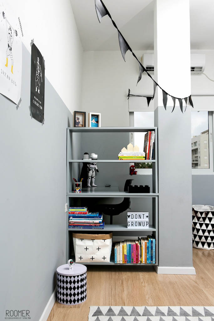 The Half Gray Room - Shelf
