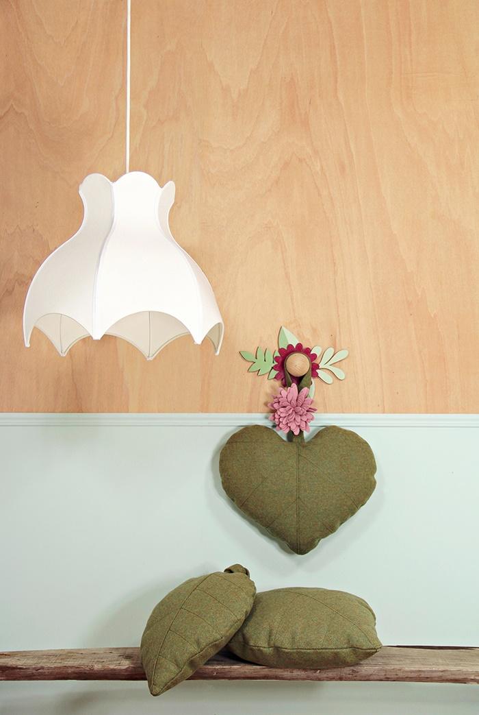heart leaf pillow wawomb