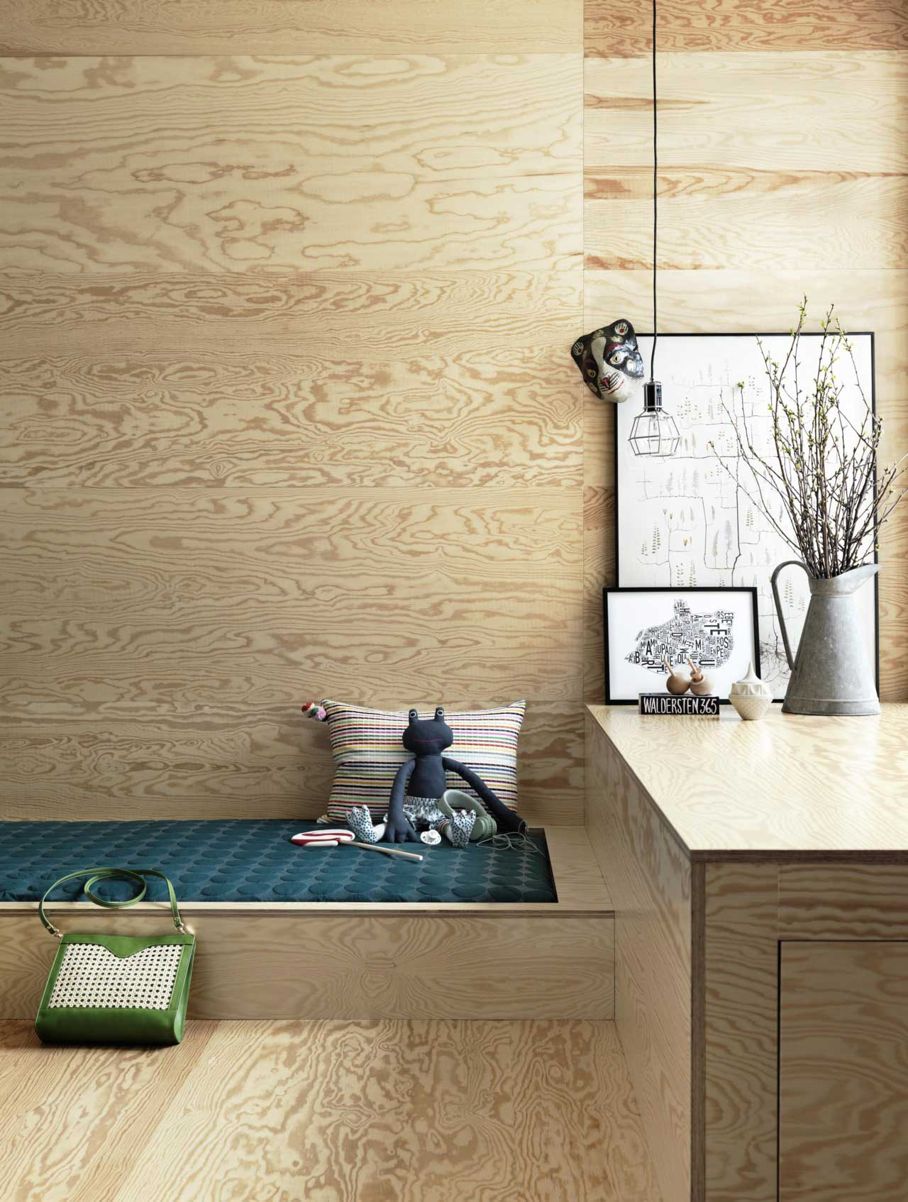 how to create a stunning kids room with plywood: 6 inspiring ideas