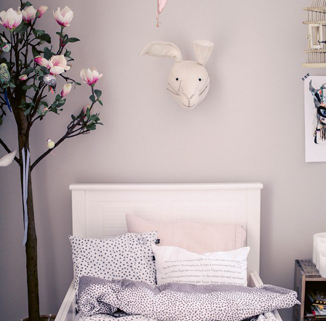 Spring-Like Kids' Room with Soft Tones