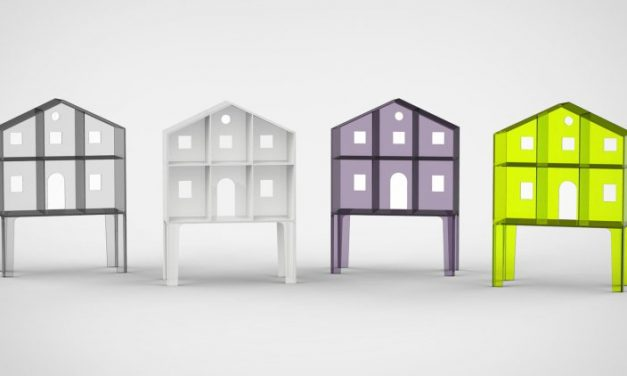 Ultra-minimal Villa Doll's Houses by Kartell