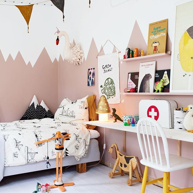 Scandinavian Style Kids Room: Colourful Nordic Inspiration On The @BLOGGAIBAGIS