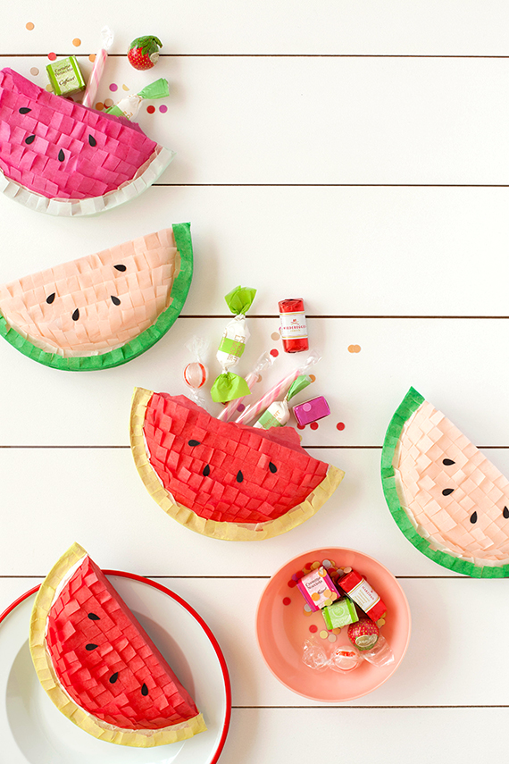 diy-watermelon-pinatas