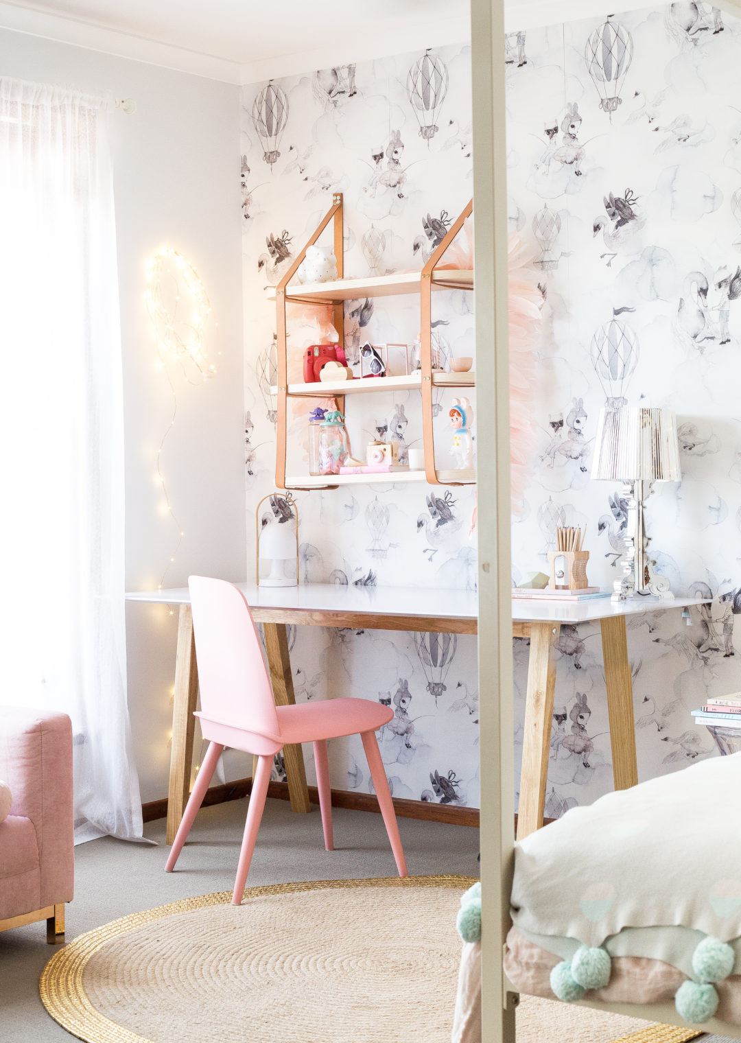 Elegant Study Room: The Prettiest Pastel Desk Spaces: 6 Stylish Study Areas