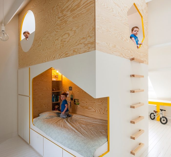 A Fairy Tale Attic to Rest and Enjoy