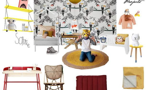 Peek & Pack Kids' Rooms Created in Cooperation with Balamoda