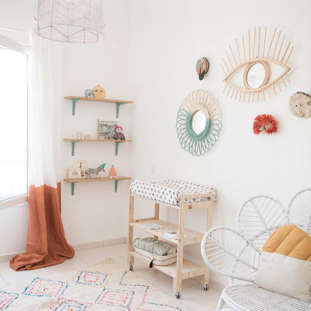 Beautiful Nursery a beautiful nursery with boho chic charm - petit & small