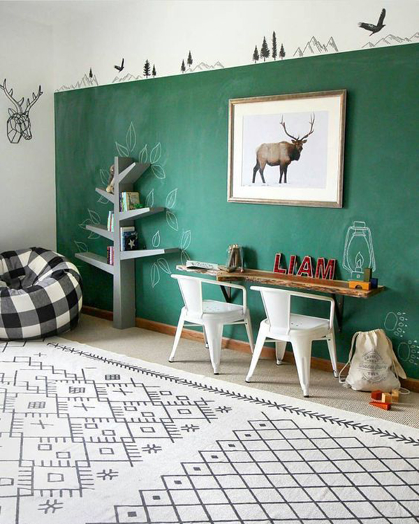 Boys Bedroom Art Paint Bedroom Ideas Master Bedroom Bedroom Sets Jamaica Bedroom Furniture For Sale In Karachi: 5 Kids' Rooms Inspired By The Forest
