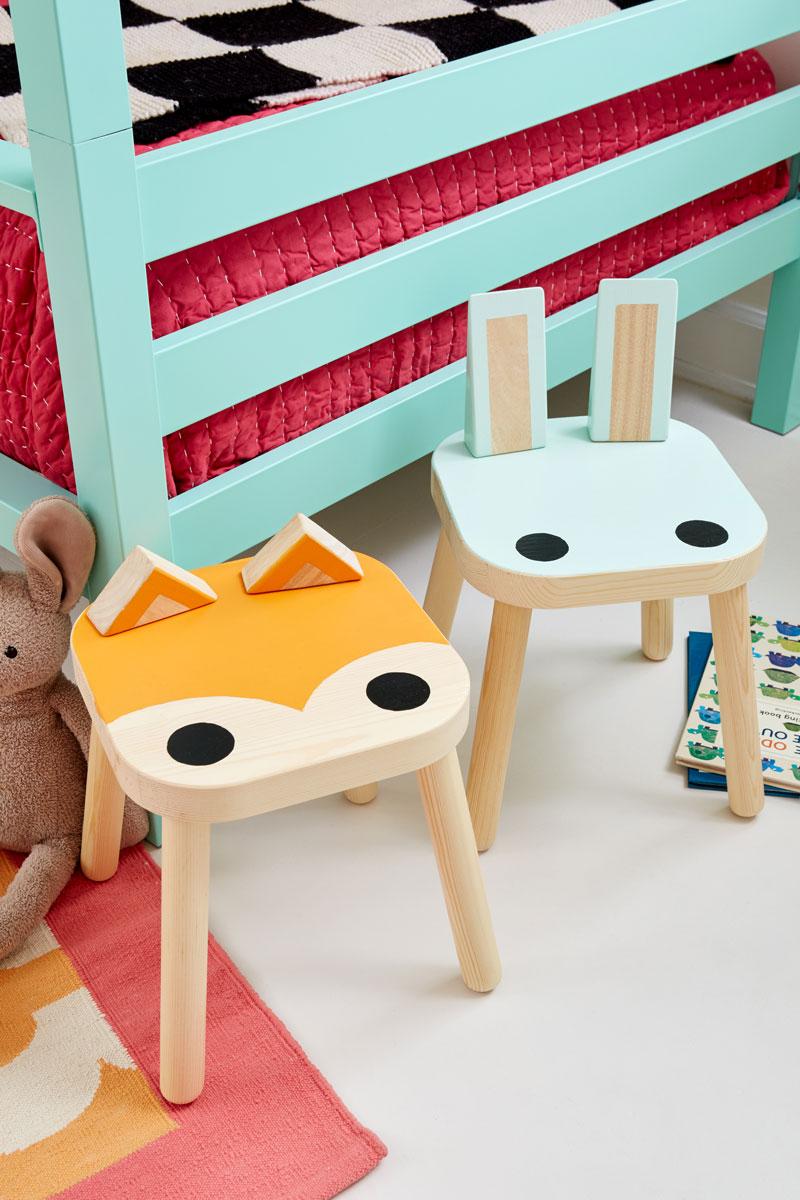 Stupendous The Best Ikea Stool Hacks To Steal Petit Small Creativecarmelina Interior Chair Design Creativecarmelinacom