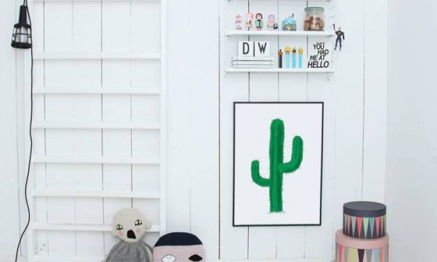 5 Simple Ways to Work the Cactus Trend for Kid's Rooms