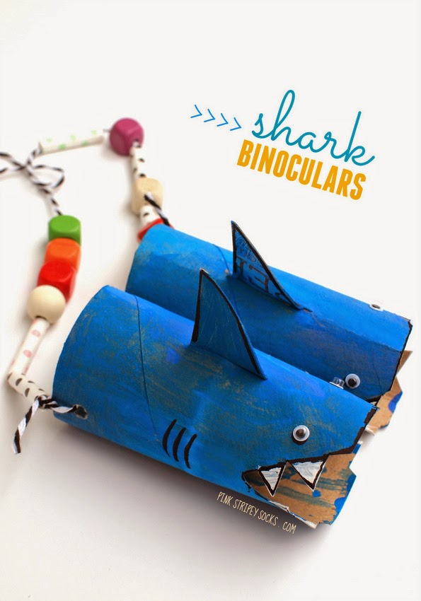 toilet-roll-shark-binoculars-kids-craft