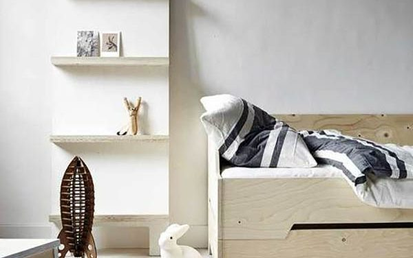 Modern Ideas for Kids Room Design: Decorating with Wood