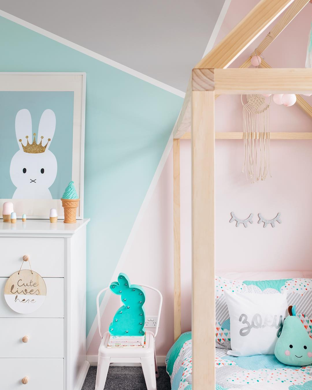 Colour Block your Walls with These Fun Ideas - Petit & Small
