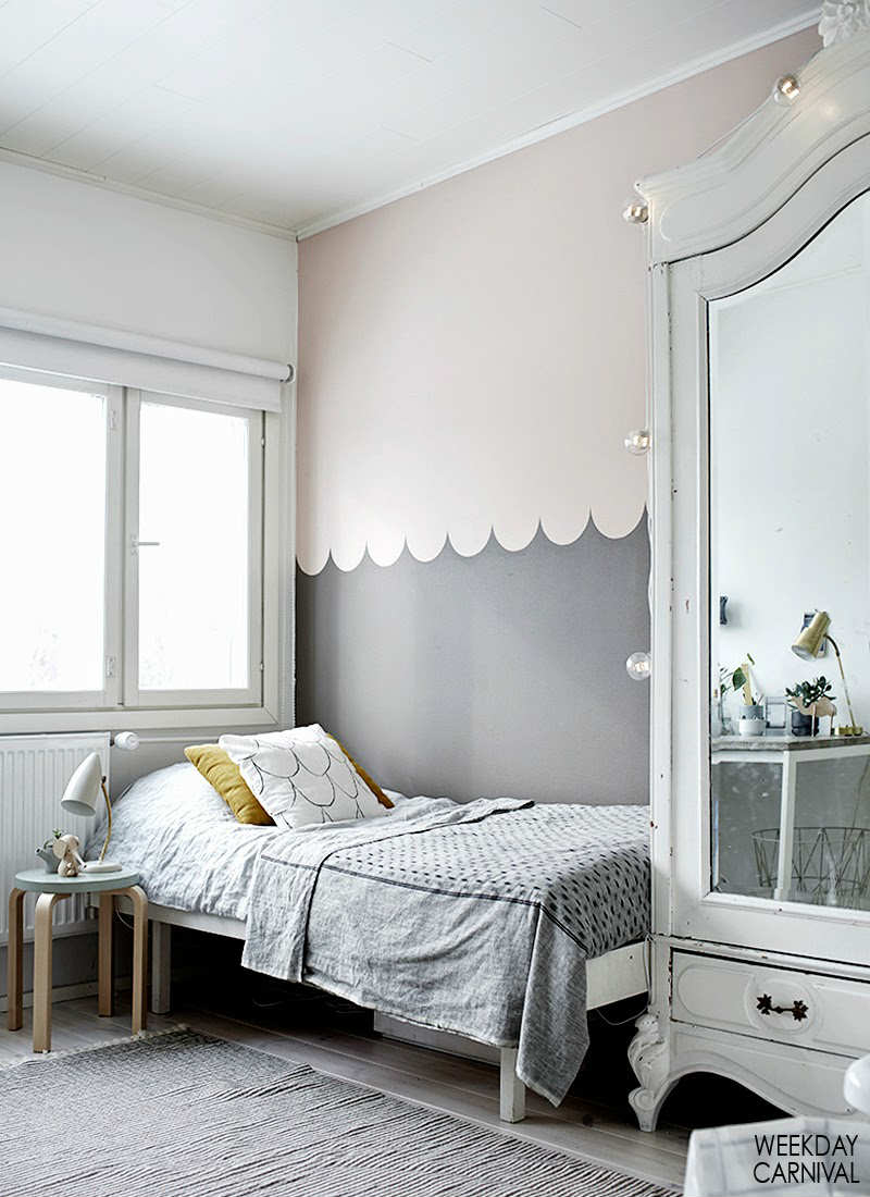 Colour Block Your Walls With These Fun Ideas Petit Small