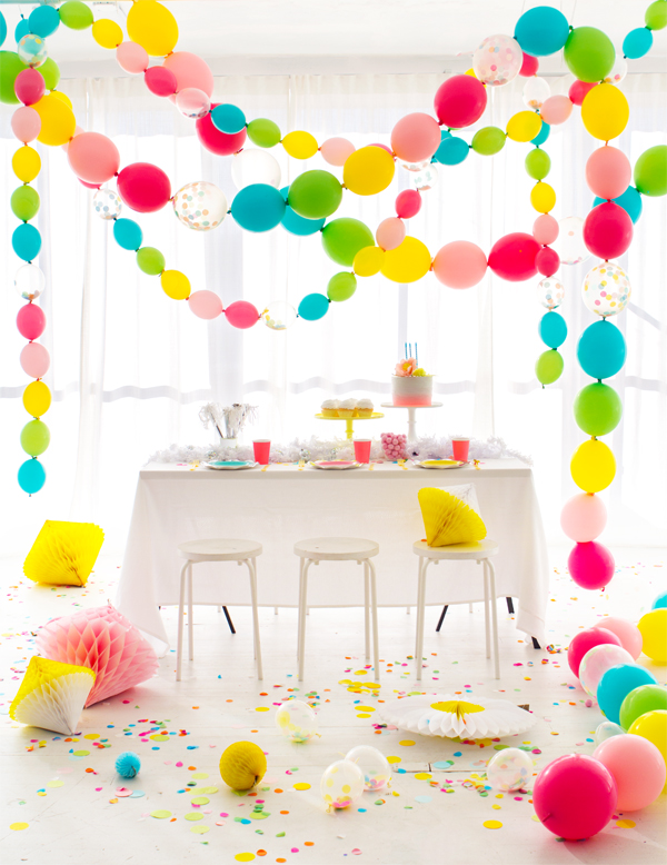 7 diy balloon ideas to make for your kids party petit for Balloon ideas for kids