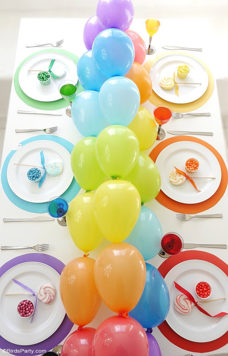 7 DIY Balloon Ideas to Make for Your Kids Party - Petit & Small