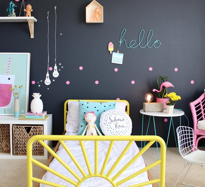 Darken up! Six Stunning Kid's Rooms with Dark Walls