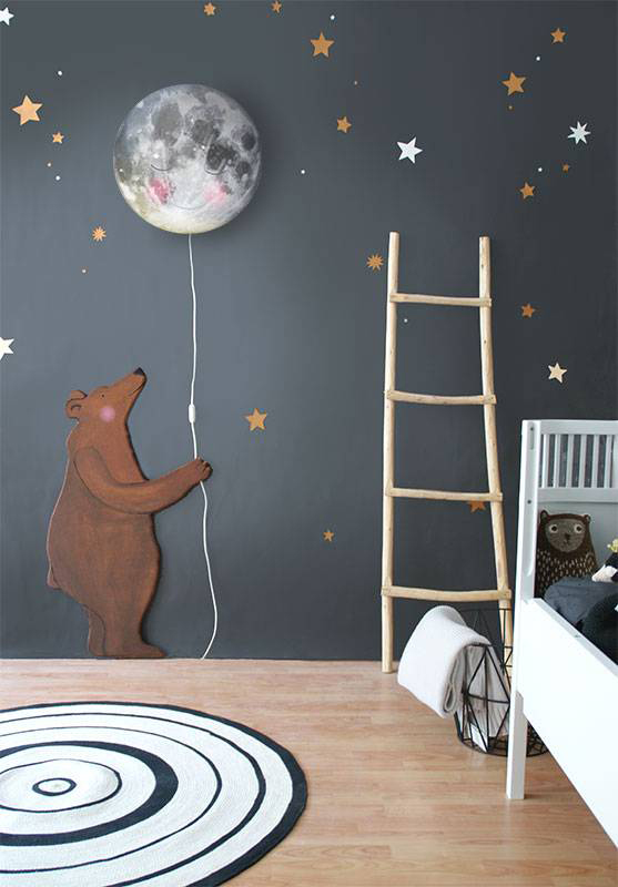 kids-room-dark-walls-star-decor
