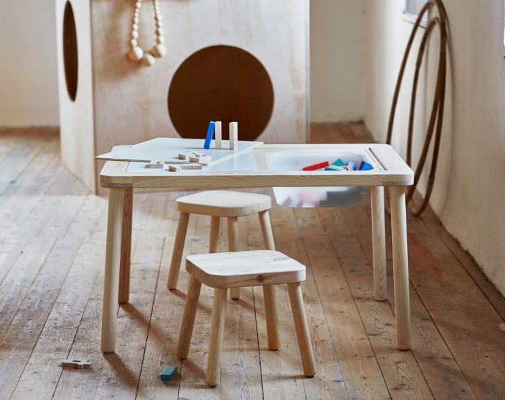 There Is So Much To Love About This Play Table. Most Of All Weu0027re Loving  The Clever Storage Idea Within The Table. A Great Place To Keep All Those  Art ...