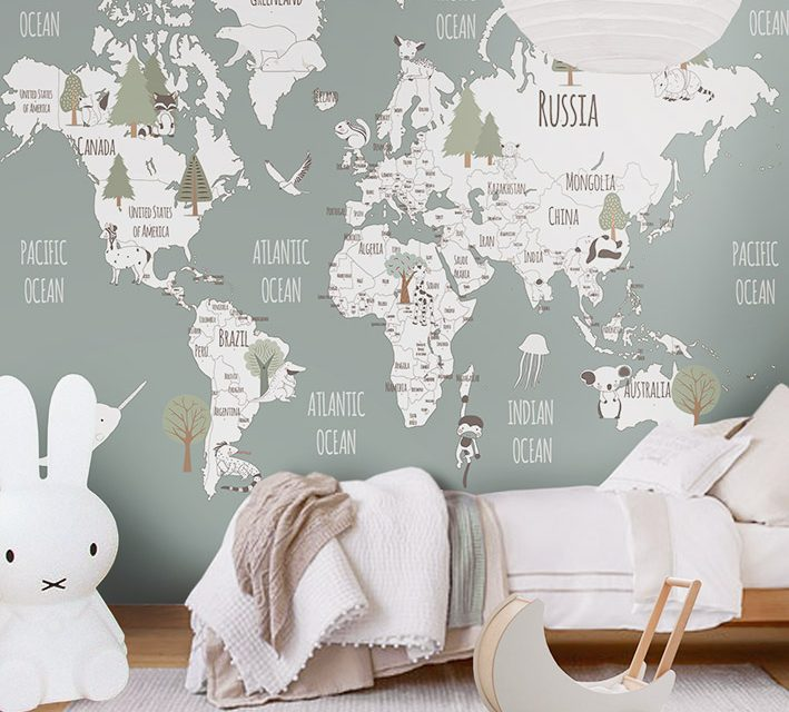 Little Hands Wallpaper – Bring Magic into Your Kids Room