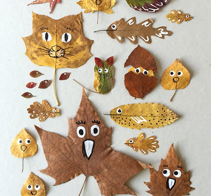 6 Fun Leaf Crafts to Try this Autumn