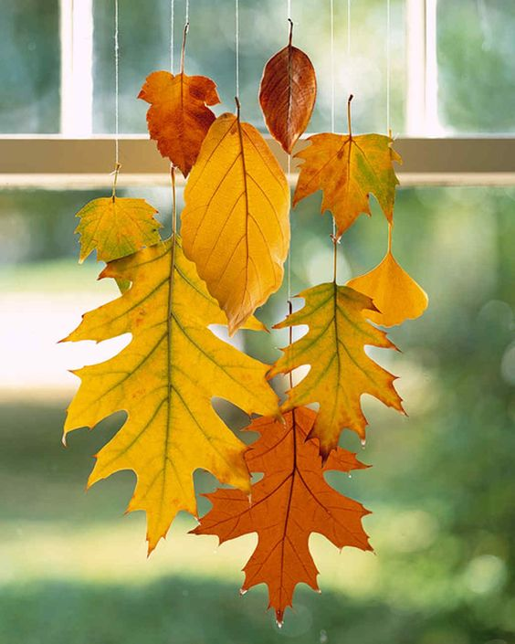 Fabulous Autumn Leaf Crafts Roomblush