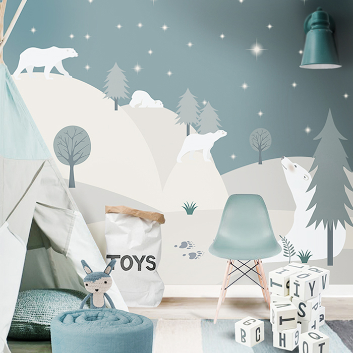 ... Bear In Mind That Magic And Surprises Must Be Present In Kidsu0027 Spaces  And Thatu0027s Why These Two Artists Include It In All Their Amazing Wallpaper  Murals.