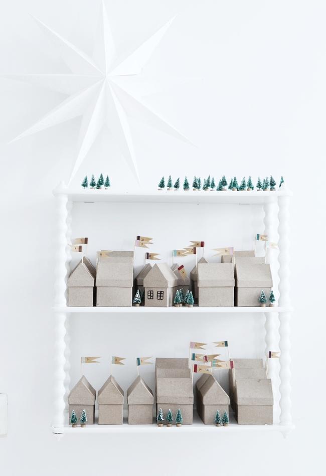 Advent Calendar Village Diy : Ideas to make your own advent calendar petit small
