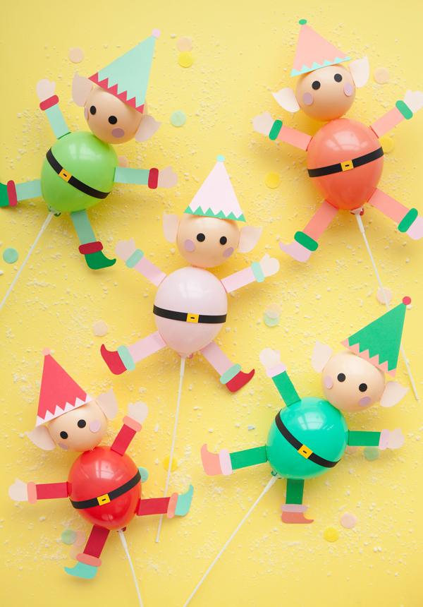 5 Fun, Colourful Kids Christmas Crafts - Petit & Small