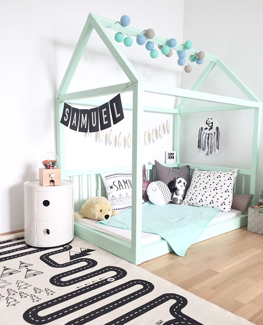 Going Green Green Decor Ideas For A Boys Room Petit Small