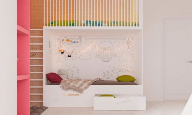 Ideas for Decorating the Play Corner in Children's Bedrooms