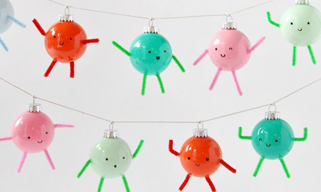 5 Fun, Colourful Kids Christmas Crafts