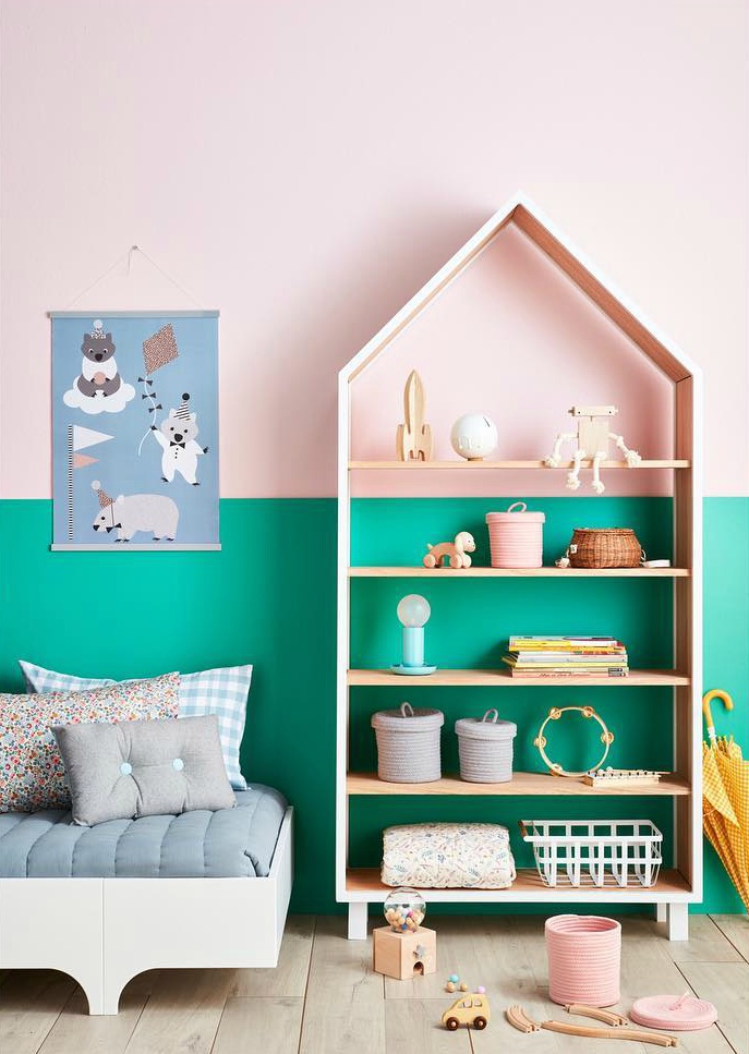 pink-and-green-kids-room-1
