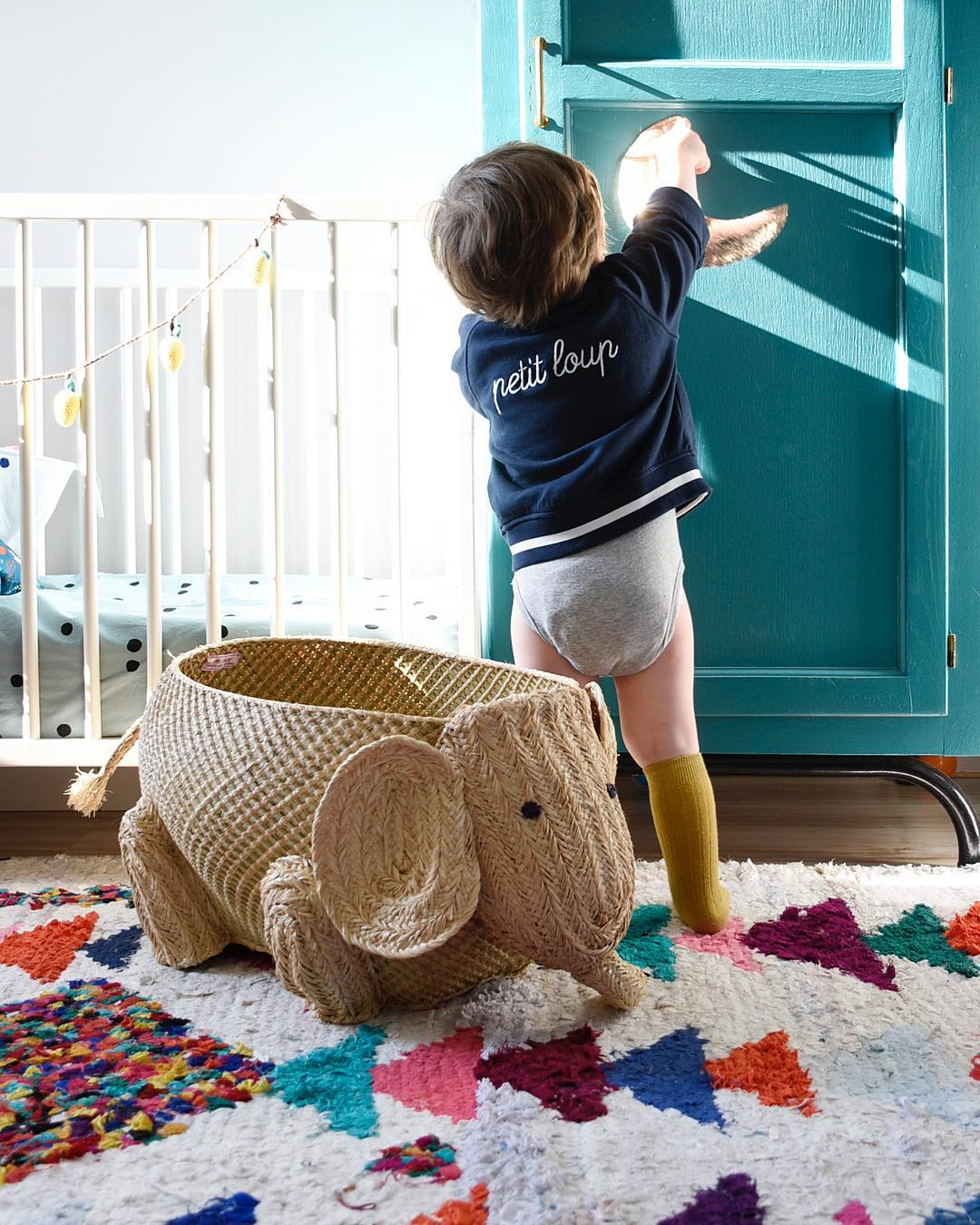 We Canu0027t Help But Smile Every Time We Set Our Eyes On This Adorable  Elephant Basket. Thereu0027s Also A Kangaroo Version Which Is Just As Fun. Who  Knew Storage ...