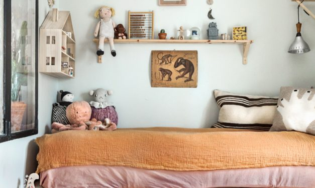 Beautiful Eclectic Style for a Kid's Room