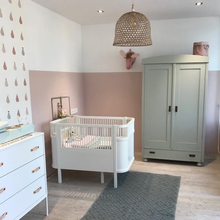 Nursery with full size furniture