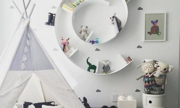 How to create a beautiful, yet practical space for your child.