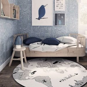 World map rug oyoy