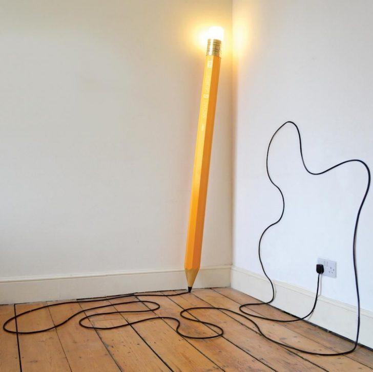 Giant drew lamp