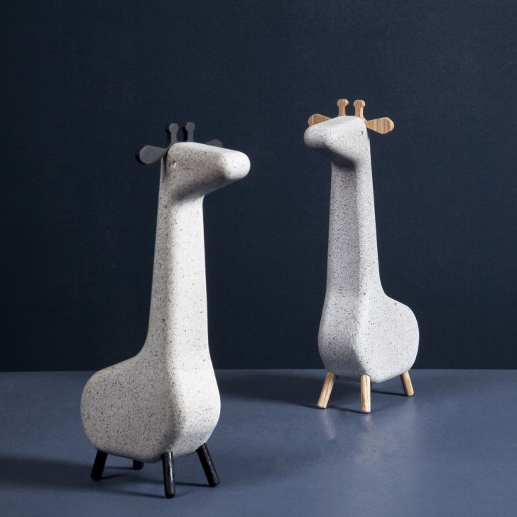 Cool And Simple Scandinavian Concrete Animals Petit