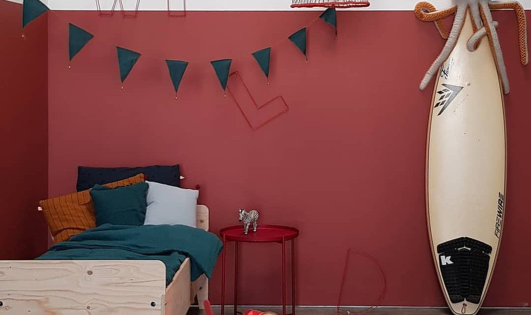 Fabulous red kids rooms!