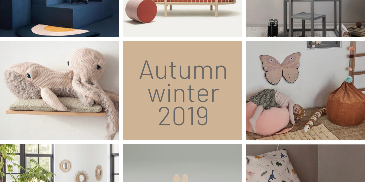 What's new for kids interiors this autumn-winter 2019.