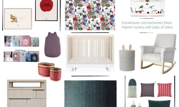 Designing a Scandinavian inspired nursery with a touch of magic.